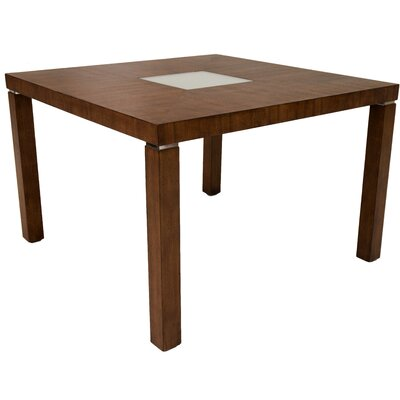 Lanette Gathering Counter Height Dining Table Finish: Brown