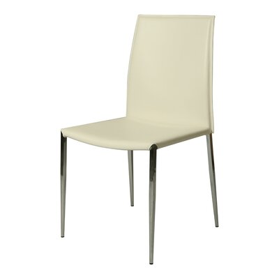Ellington Side Chair Chair Upholstery: White