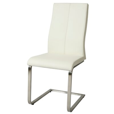 Olander Side Chair Upholstery: Ivory