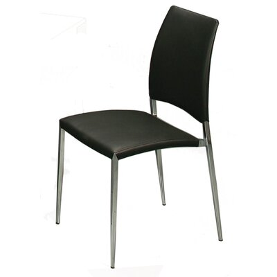 Ferguson Side Chair Upholstery: Black