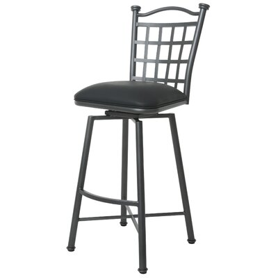Alene Upholstered Swivel Bar Stool