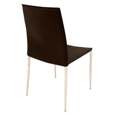 Ellington Side Chair Chair Upholstery: Brown