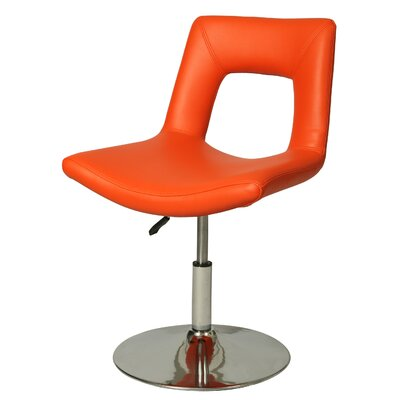 Dublin Side Chair Side Chair Upholstery: Orange
