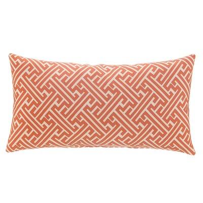 Greek Key Lumbar Pillow Color: Burnt Orange