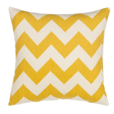 Chevron Linen Throw Pillow