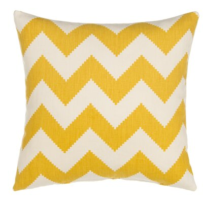 Chevron Linen Throw Pillow Cover