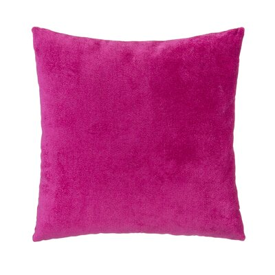 Magenta Velvet Square Pillow