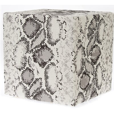 Decorative Ottoman Upholstery: Light Gray