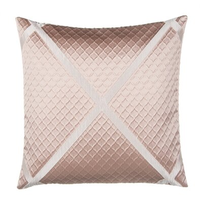 Jacquard with X Throw Pillow