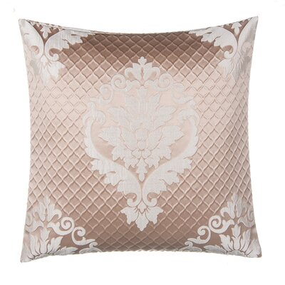 Jacquard with Damask Throw Pillow