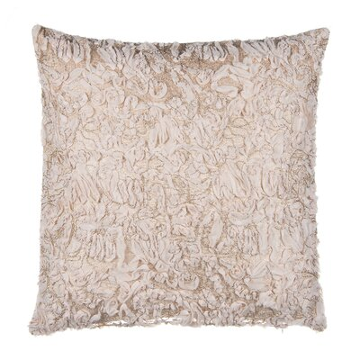 Chiffon Tulle Over Velvet Throw Pillow
