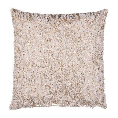 Chiffon Tulle Over Velvet Throw Pillow Case