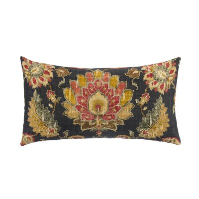 Marrakesh with Tan Linen Back Lumbar Pillow