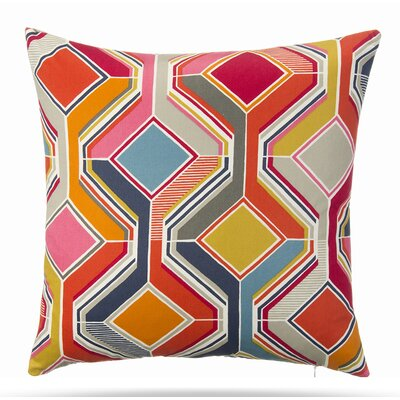 Swoon Cotton Throw Pillow