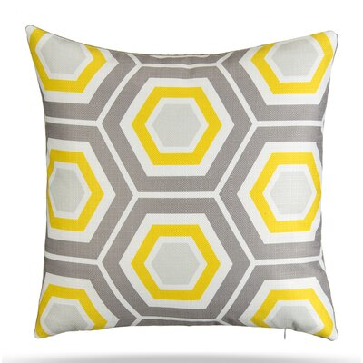 Queen Bee Cotton Throw Pillow