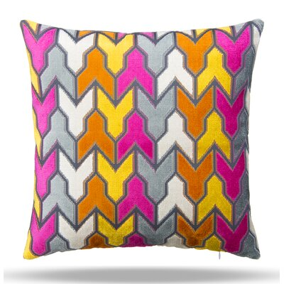 Metro Cotton Throw Pillow