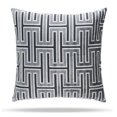 Wave Length Cotton Throw Pillow