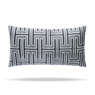 Wave Length Cotton Lumbar Pillow