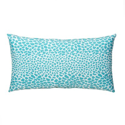 Dont Be Catty Outdoor Lumbar Pillow Color: Aqua