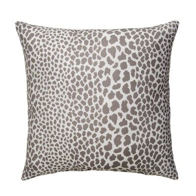 Dont Be Catty Outdoor Throw Pillow Color: Zinc