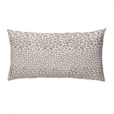 Dont Be Catty Outdoor Lumbar Pillow Color: Zinc