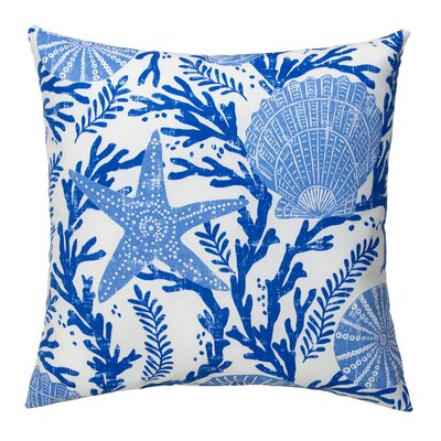 Coral Reef Outdoor Throw Pillow