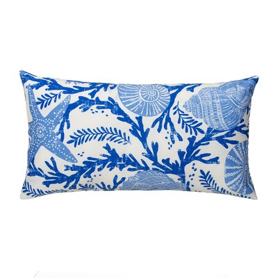 Coral Reef Outdoor Lumbar Pillow