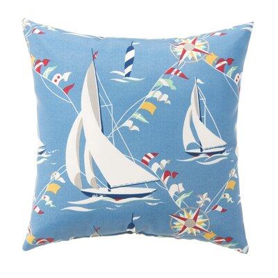 Skipper Outdoor Throw Pillow