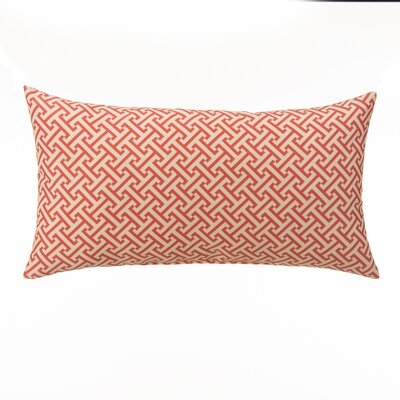 Greek Key Outdoor Lumbar Pillow