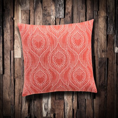 Edmundo 100% Cotton Throw Pillow