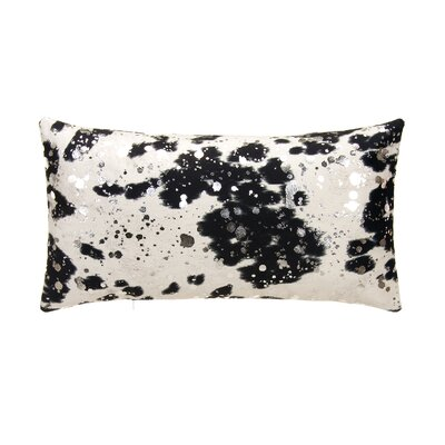 Rabiya Lumbar Pillow Color: Black