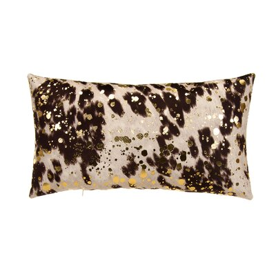 Rabiya Lumbar Pillow Color: Brown