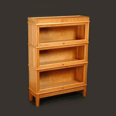 Sectional Series Extra Deep Receding Door Barrister Bookcase 391 Product Photo