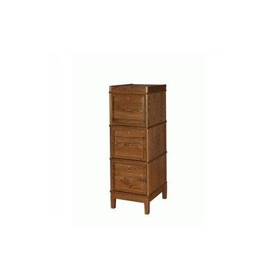 300 Sectional Series 3-Drawer File Finish: Mellowed Lacquered Sheen (Walnut) Product Image 34