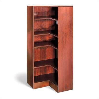 1100 NY Series Inside Corner Bookcase Finish: Medium Oak, Height: 84 Product Image 574