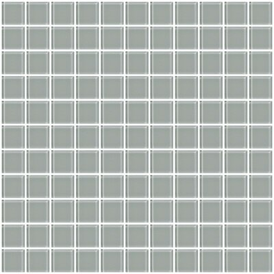 1 Gray Glass Tile (Set of 2)