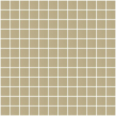 Architects Overstock 1 x 1 Mirrored Glass Mosaic Tile in Gold