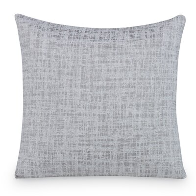 Transmit Throw Pillow Color: Light Gray