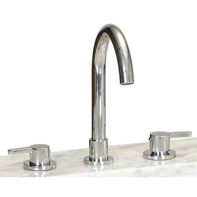 Apogee Widespread Bathroom Faucet Double Handle Finish: Polished Chrome