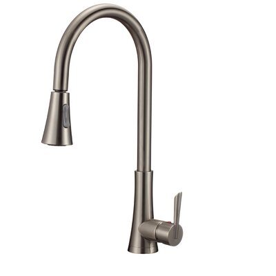 Apogee Single Handle Kitchen Faucet with Side Spray