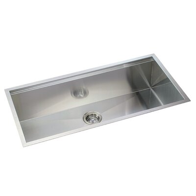 Ledge Series 36 x 10 Undermount or Topmount Kitchen Sink