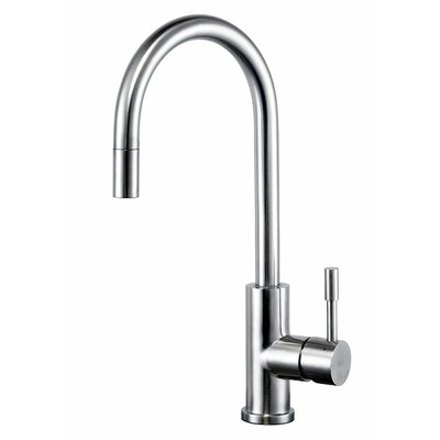 Single Handle Pull Down Kitchen Faucet with Side Spray