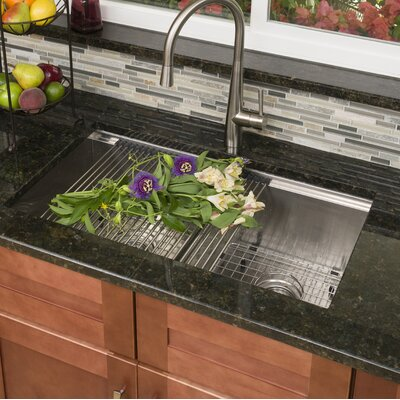 Ledge Series 33 x 22 Undermount or Topmount Kitchen Sink