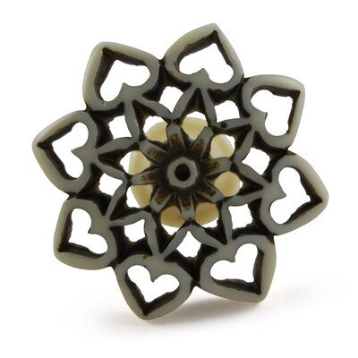 Flower Novelty Knob