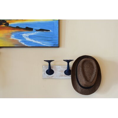 Whale Tail Wall Hook Rack