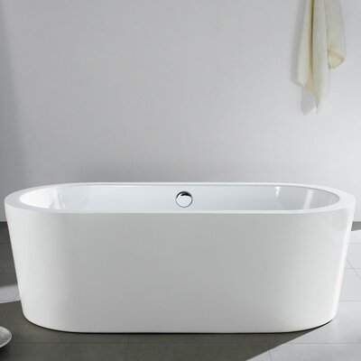 Mandalay 58 x 29 Soaking Bathtub