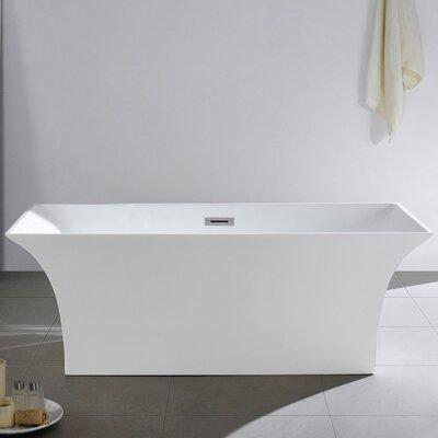 Palazzo 66 x 31 Soaking Bathtub