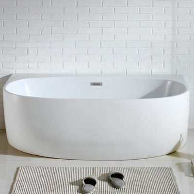 Monte 58 x 33 Soaking Bathtub