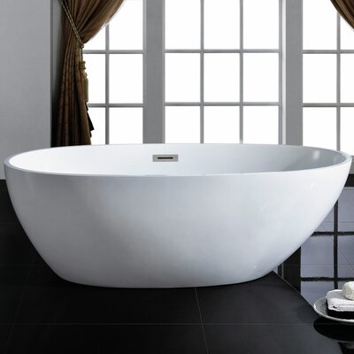 Cosmo 66 x 33 Soaking Bathtub