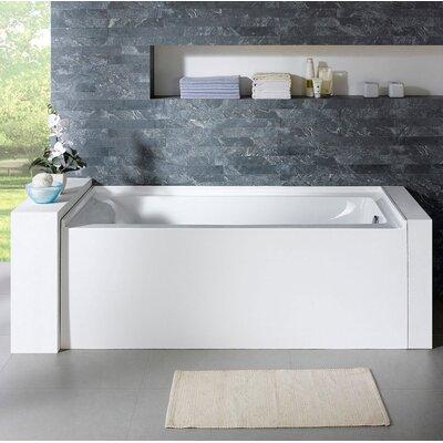 Delano 59.8 x 32 Soaking Bathtub Drain Location: Right